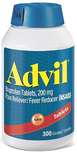 Advil Ibuprofen Bottle