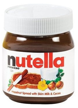 Nutella Bottle