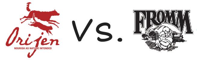 Orijen vs Fromm