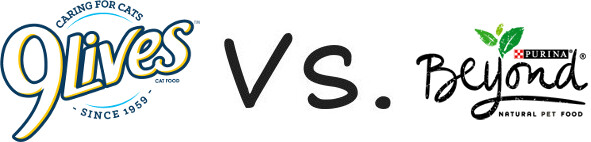 9 Lives vs Purina Beyond