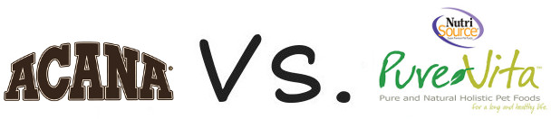 Acana vs Pure Vita