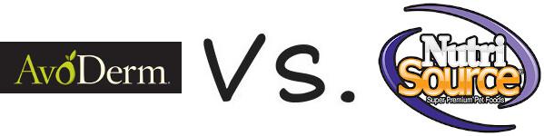 AvoDerm vs NutriSource