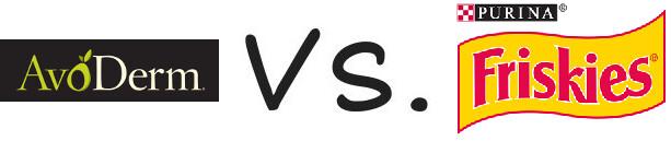 AvoDerm vs Purina Friskies
