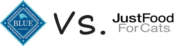Blue Buffalo vs JustFoodForCats