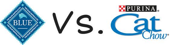 Blue Buffalo vs Purina Cat Chow