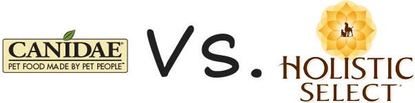 Canidae vs Holistic Select