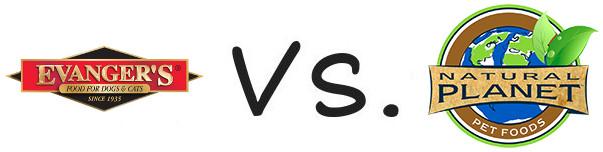 Evanger's vs Natural Planet