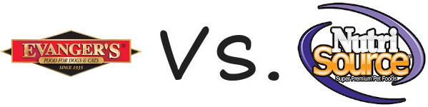 Evanger's vs NutriSource