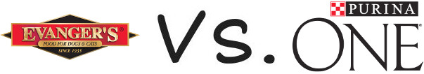 Evanger's vs Purina One