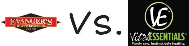 Evanger's vs Vital Essentials