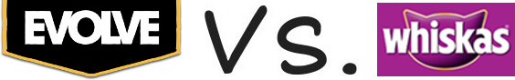 Evolve vs Whiskas
