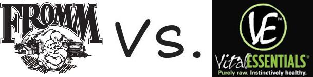 Fromm vs Vital Essentials