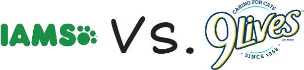 Iams vs 9 Lives