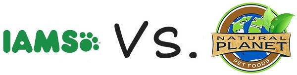 Iams vs Natural Planet