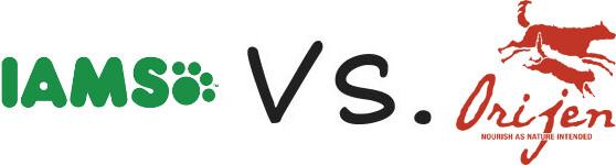 Iams vs Orijen