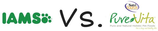Iams vs Pure Vita