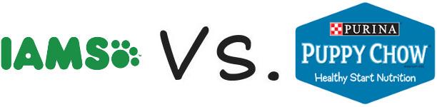 Iams vs Purina Puppy Chow