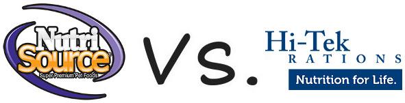 NutriSource vs Hi-Tek Rations