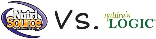 NutriSource vs Nature's Logic