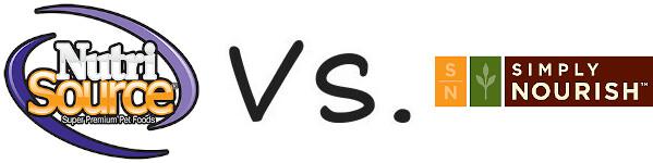 NutriSource vs Simply Nourish