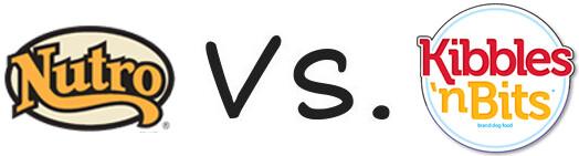 Nutro vs Kibbles 'n Bits