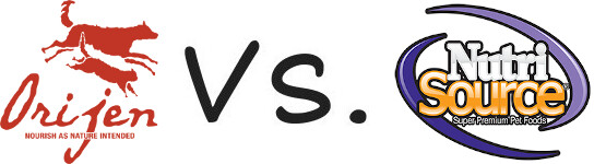 Orijen vs NutriSource