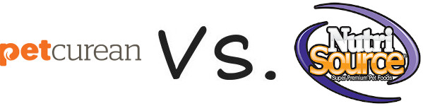Petcurean vs NutriSource