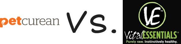 Petcurean vs Vital Essentials