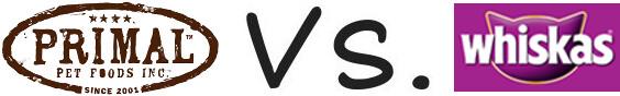 Primal vs Whiskas