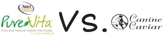 Pure Vita vs Canine Caviar