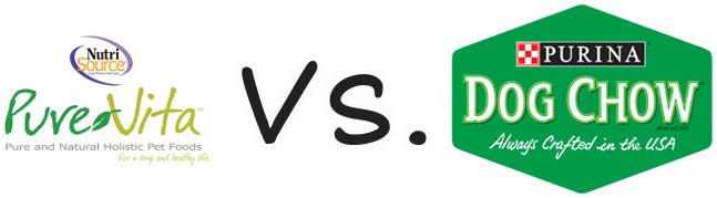 Pure Vita vs Purina Dog Chow
