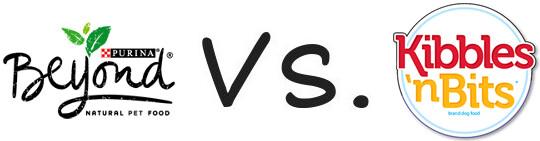 Purina Beyond vs Kibbles 'n Bits