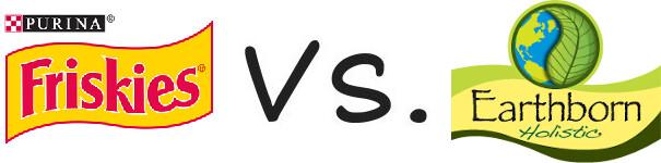 Purina Friskies vs Earthborn Holistic