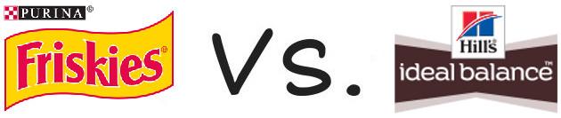 Purina Friskies vs Hill's Ideal Balance