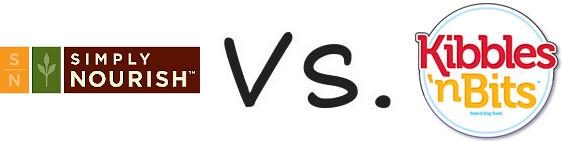 Simply Nourish vs Kibbles 'n Bits
