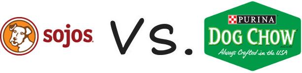 Sojos vs Purina Dog Chow