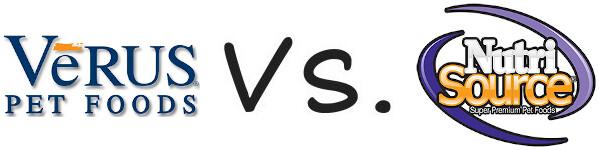 VeRUS vs NutriSource