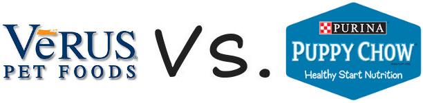 VeRUS vs Purina Puppy Chow