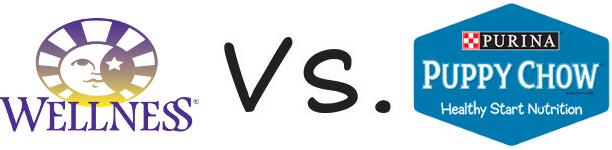Wellness vs Purina Puppy Chow