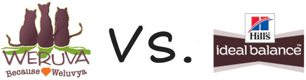 Weruva vs Hill's Ideal Balance