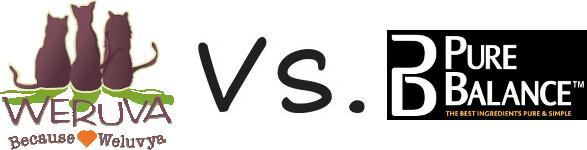 Weruva vs Pure Balance