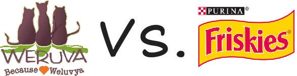 Weruva vs Purina Friskies