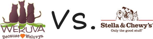 Weruva vs Stella and Chewy's