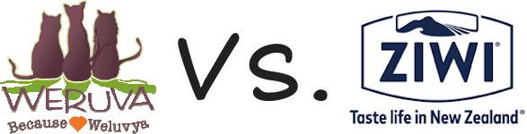 Weruva vs Ziwi Peak