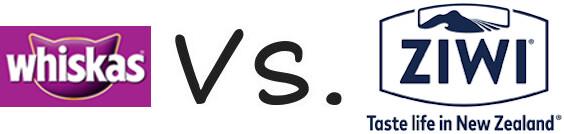 Whiskas vs Ziwi Peak