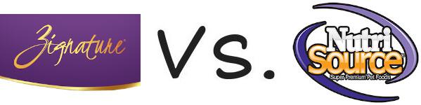 Zignature vs NutriSource