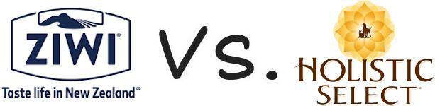 Ziwi Peak vs Holistic Select