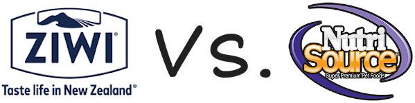 Ziwi Peak vs NutriSource