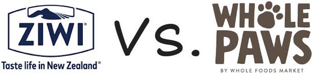 Ziwi Peak vs Whole Paws