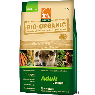 Defu Adult Organic Dog Food - 12.5 kg